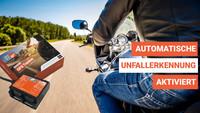BikerSOS - Jetzt mit automatischer Unfallerkennung im GPS-Tracker