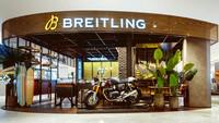 Triumph - Motorradhersteller stellt die Uhren mit Breitling