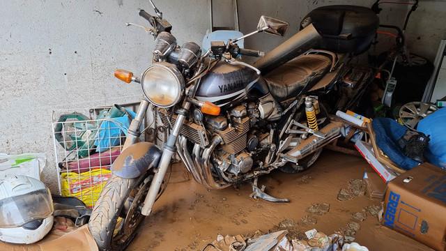 Hochwasser - Wie die Zweiradbranche in der Not hilft