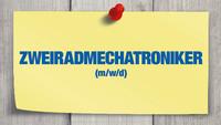 Motorradcenter Johann Bauer GmbH sucht Zweiradmechatroniker (m/w/d)
