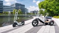 BMW - Neue Konzepte für Lastenrad und E-Scooter