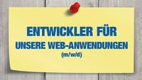 Entwickler für unsere Web-Anwendungen (m/w/d)