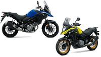 Suzuki - Neue Farben für die kleine V-Strom