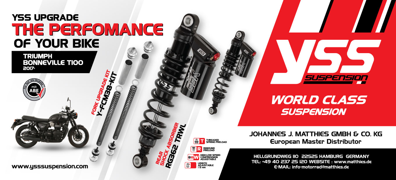 YSS Upgrade The Performance of your Bike