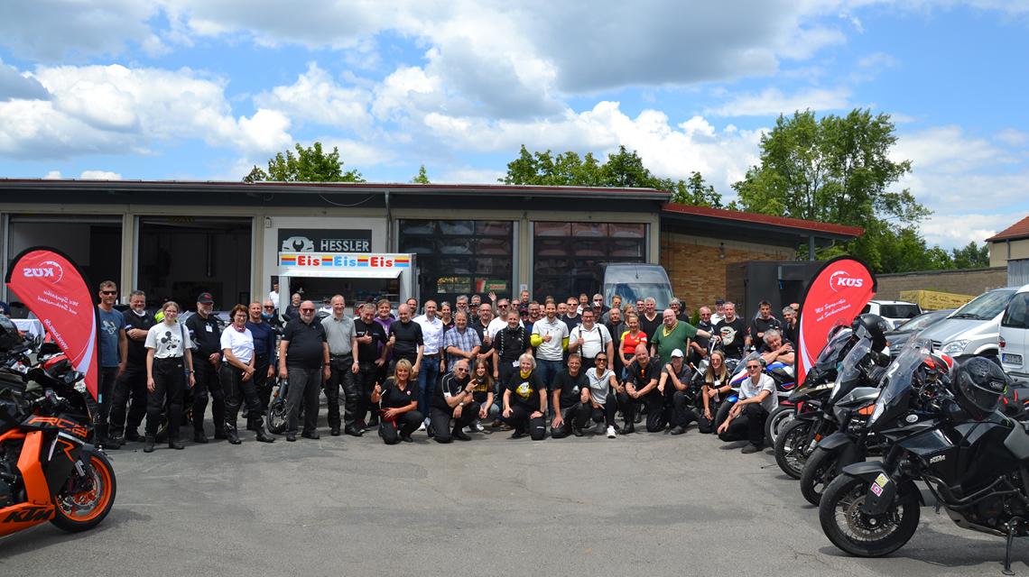 »bike und business«-Motorradtour2021